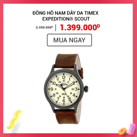 Đồng Hồ Nam Dây Da Timex Expedition® Scout T49963