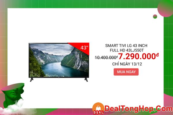 Smart Tivi LG 43 inch Full HD 43LJ550T