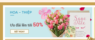 Hoa Thiệp Save The Date