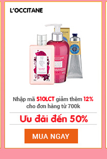 L'occitane sale up to 50%