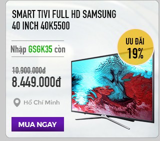 Smart Tivi Full HD Samsung 40 inch 40K5500