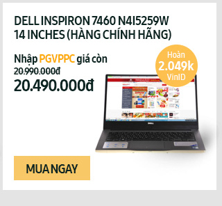 Laptop Dell Inspiron 7460